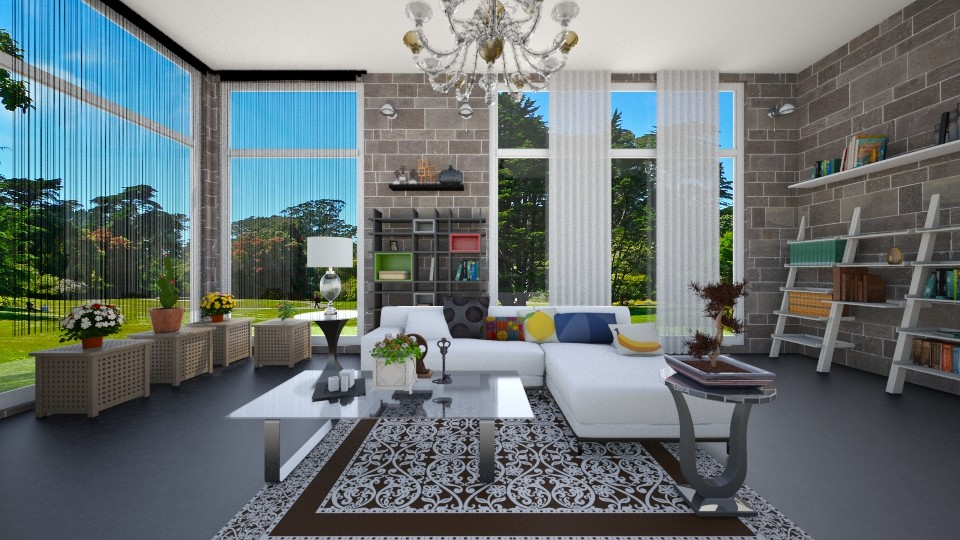 Sunshine - Living room - by HazelEvangelista