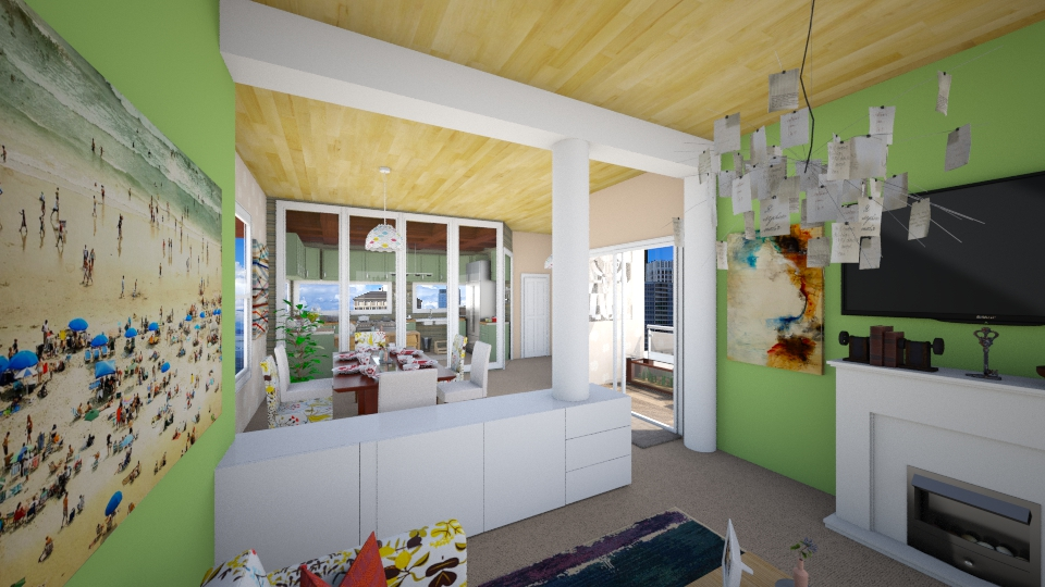 kitchen living and dining - by Nair Ailen