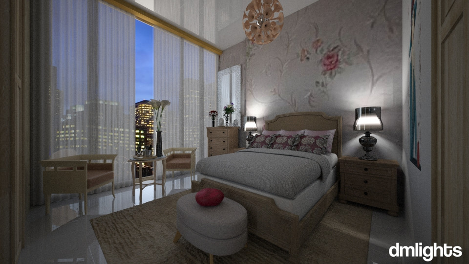 Mel - Bedroom - by DMLights-user-994540