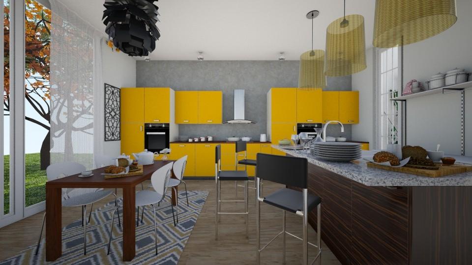 yellowkitchen - by bcn23