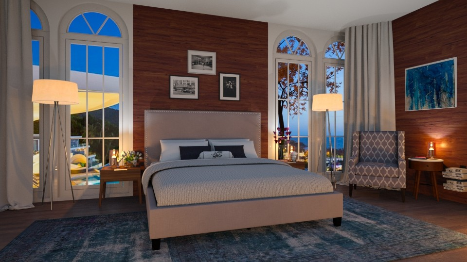 Silence  - Modern - Bedroom - by Valeria Nesterova