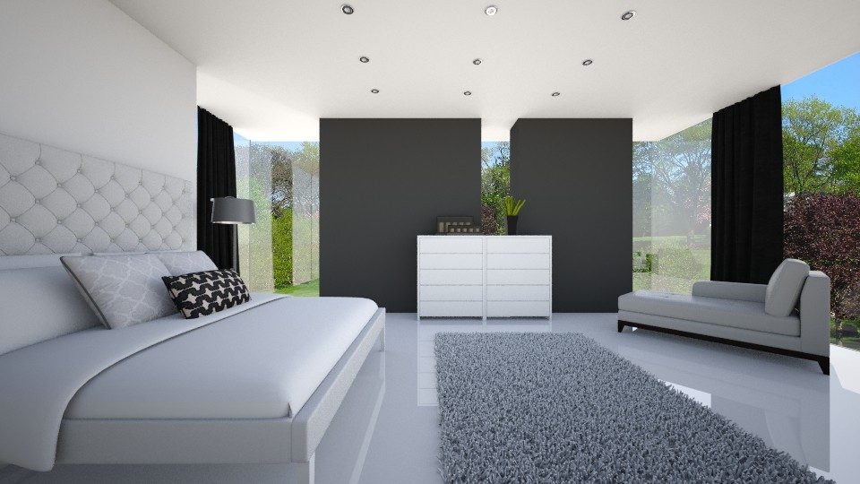 minimalistic bedroom - by ANAAPRIL