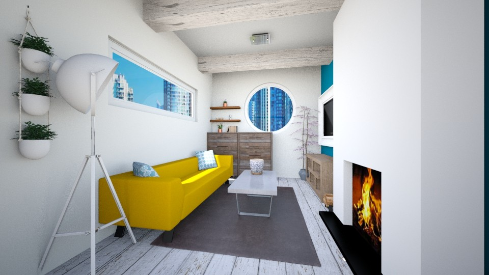 Living room - by trAnsu
