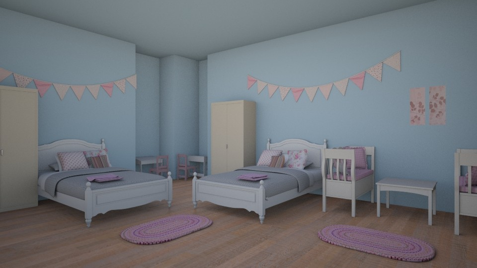 Girly Bedroom - by designer71034