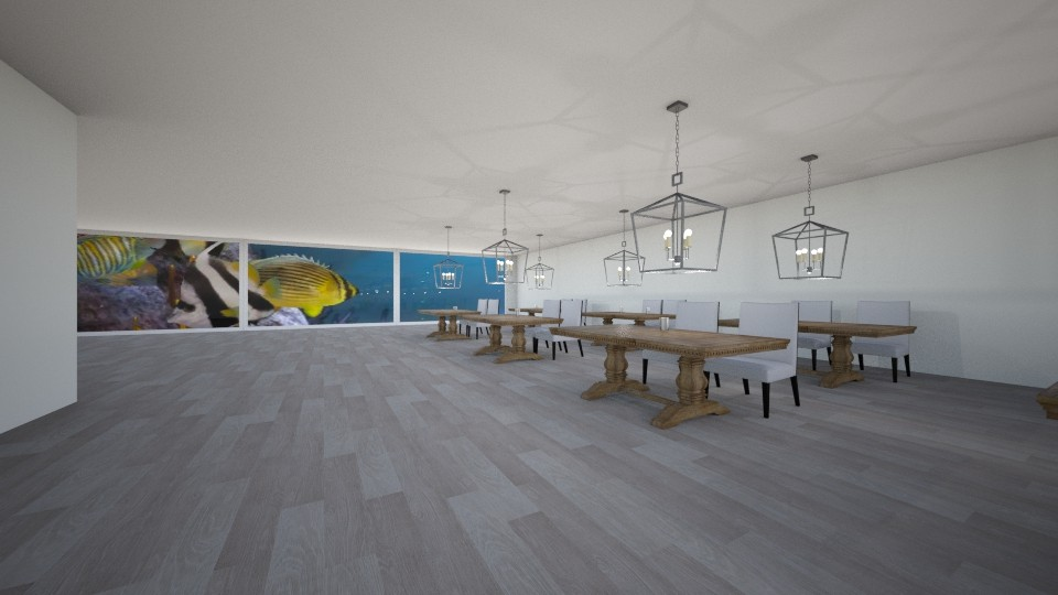 Seafood Renaissance  - Dining room - by hf1000
