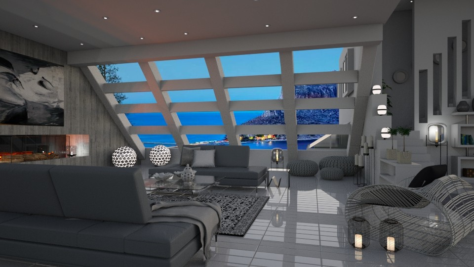 Transparent Interior - Living room - by bigmama14