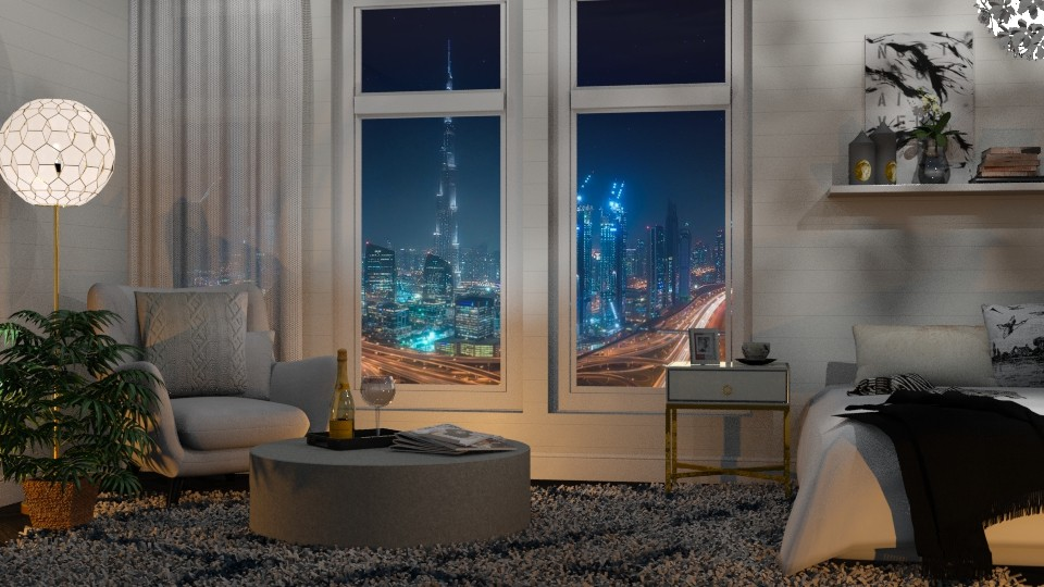 Dubai - Bedroom - by Just Bee