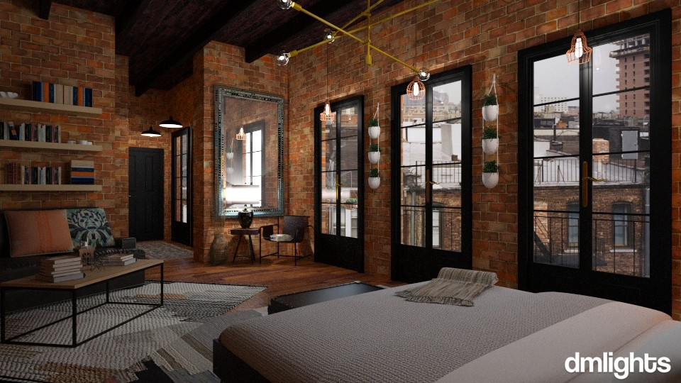 LOFT - Eclectic - by DMLights-user-1303496