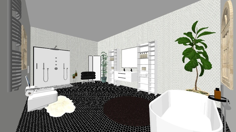 modern bathroom - Minimal - Bathroom - by Kmblake1995