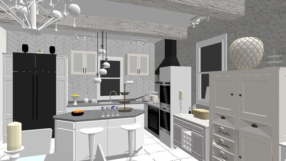 Clean Kitchen - by jdenae3