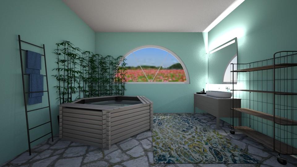 Grecian Spa Bathroom - Bathroom - by Anna_Marie_06