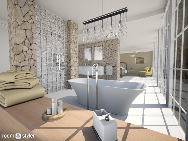 Bathroom En Suite - Glamour - Bathroom - by Milagros Rossi Martino