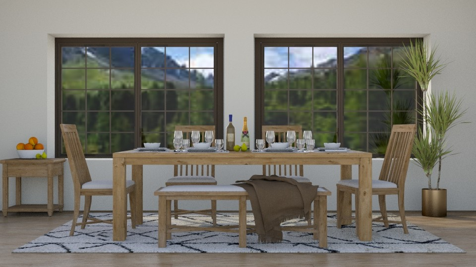 Lunchtime - Rustic - Dining room - by stephendesign