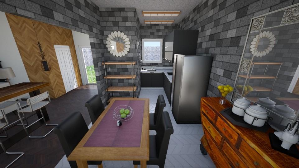 Kitchen - by MasterDarkstone
