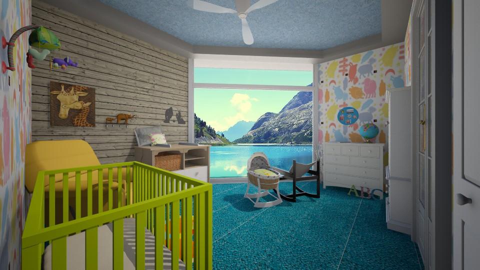 contest - Kids room - by ebonee