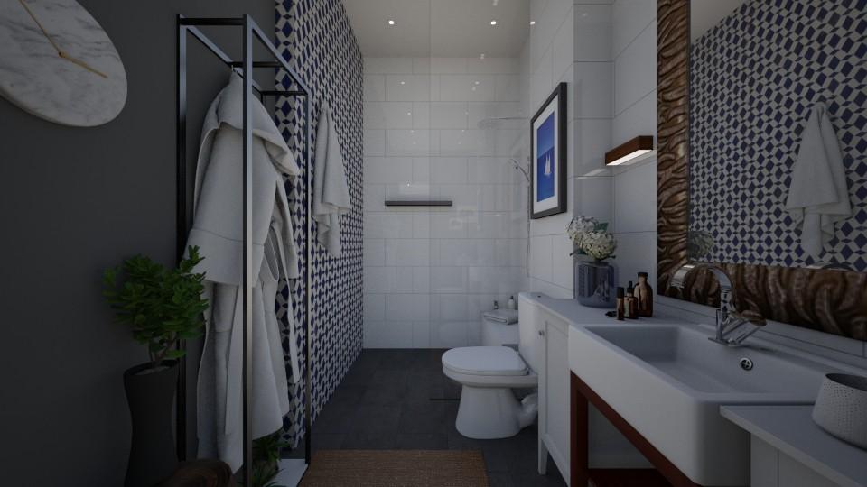 Frog bathroom 5 - Bathroom - by Vivthefrog