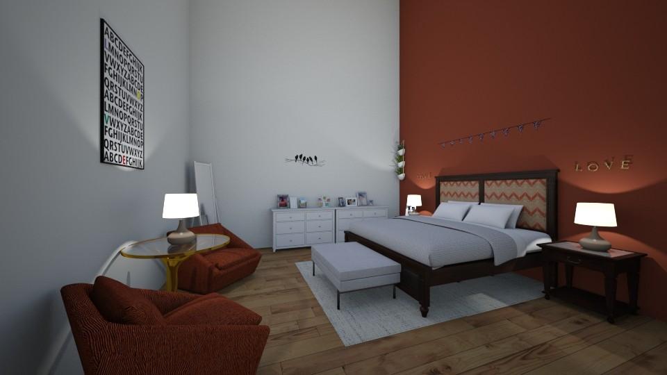 Master bedroom - Bedroom - by Addie Grace