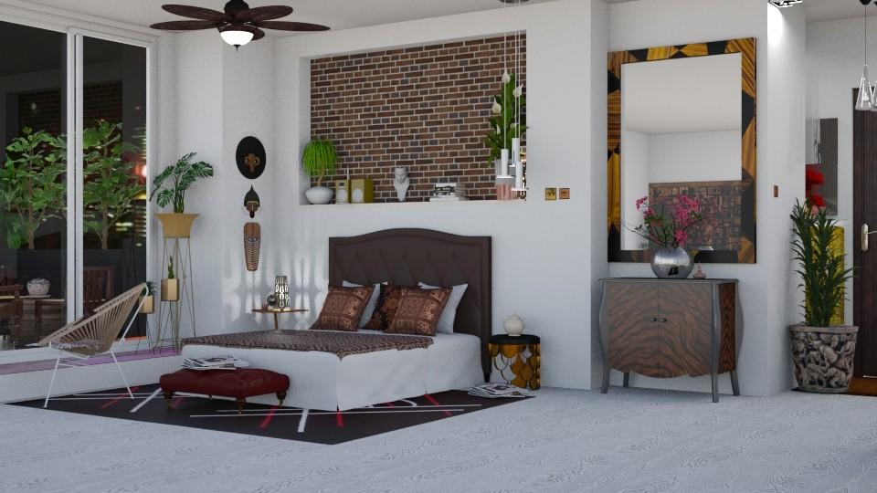 jungle bedroom - by nat mi