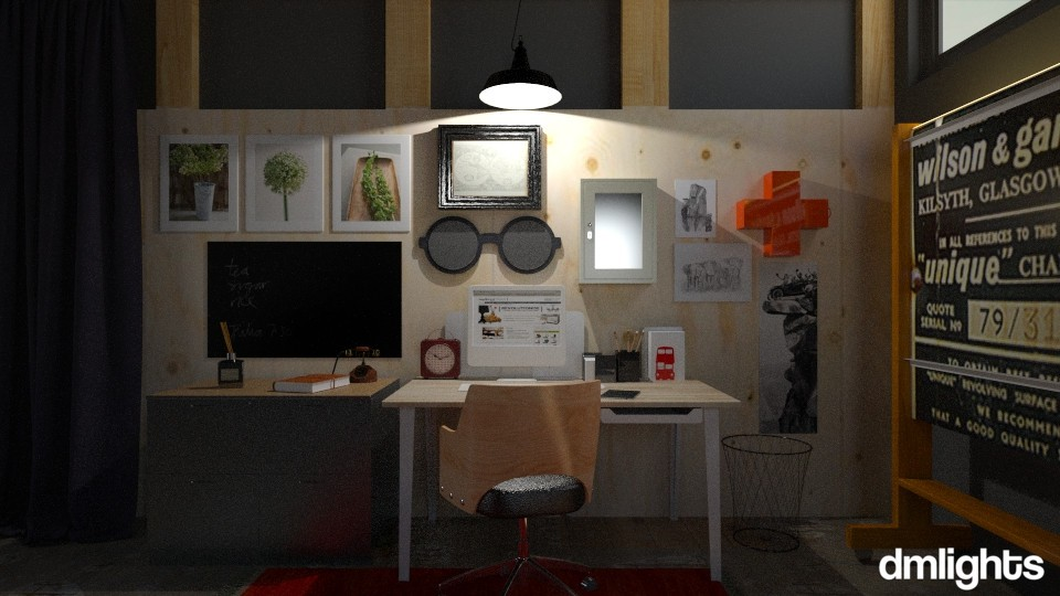 Old Toolshop Office - Office - by DMLights-user-1535782