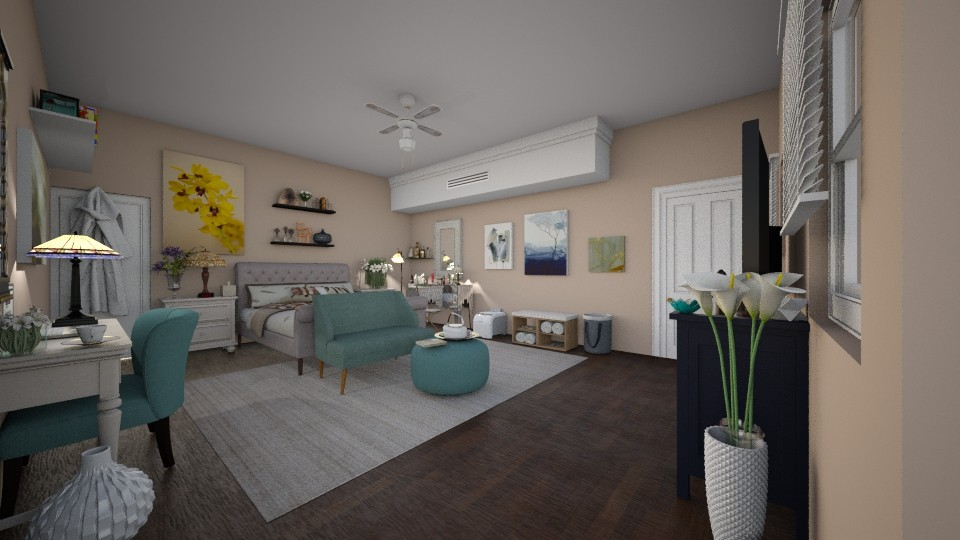 ideal bedroom - by Design By Aafira