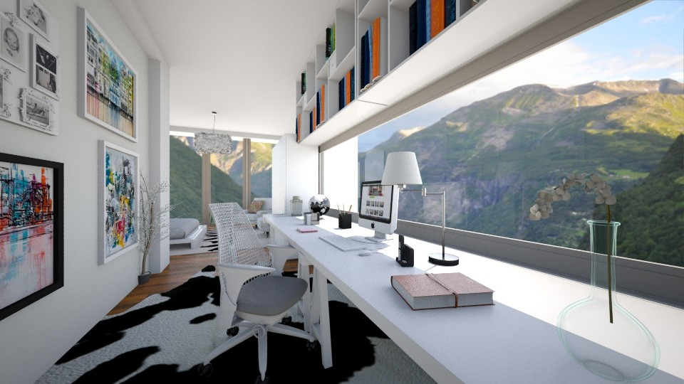 workpeace - Modern - Office - by lamzoi