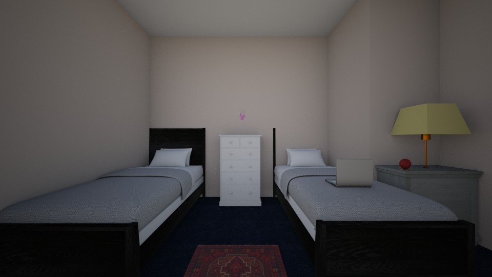 Me and my sisters room - Modern - Bedroom - by Alishba Akbar