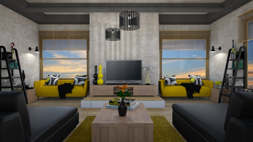 symmetry - Living room - by mari mar