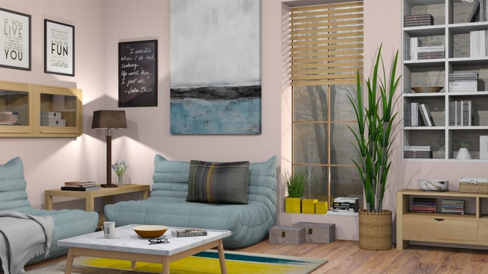 Reading Nook - Eclectic - Living room - by Sally Simpson