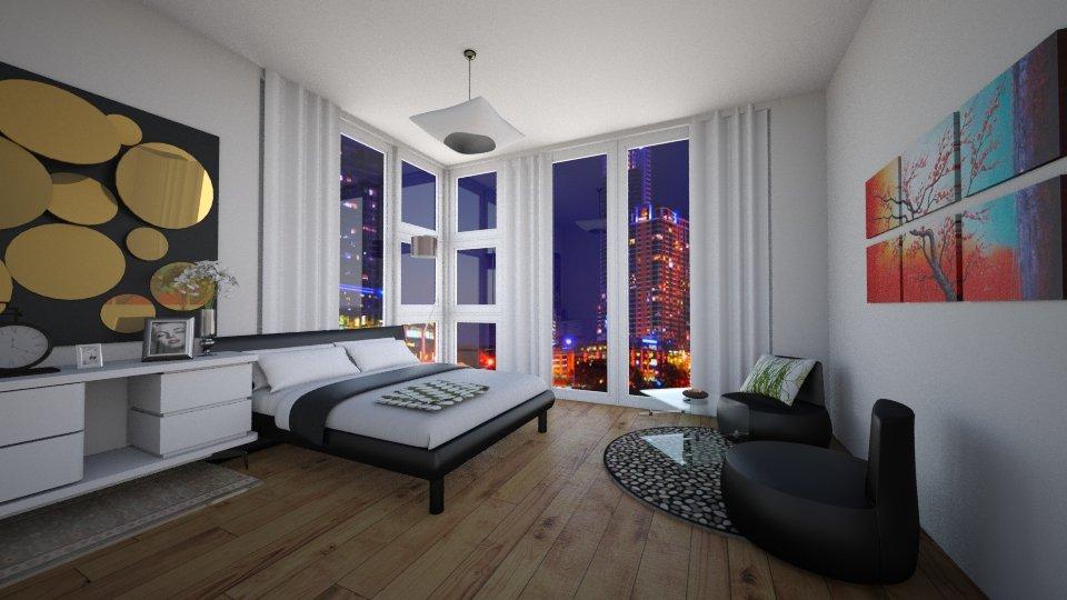 Modish  - Modern - Bedroom - by Jhiinyat