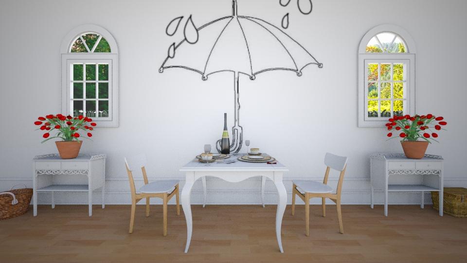 情人傘 - Dining room - by Ni NI