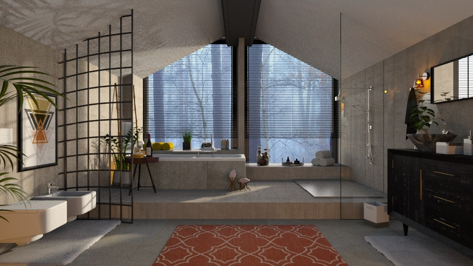 Attic bathroom - Bathroom - by Just Bee