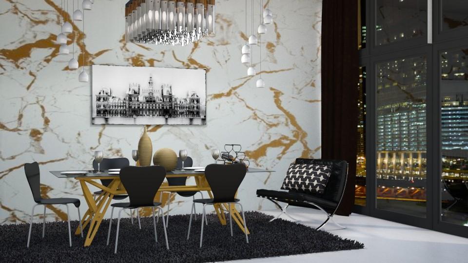 Luxury Dining - Modern - Dining room - by bgref