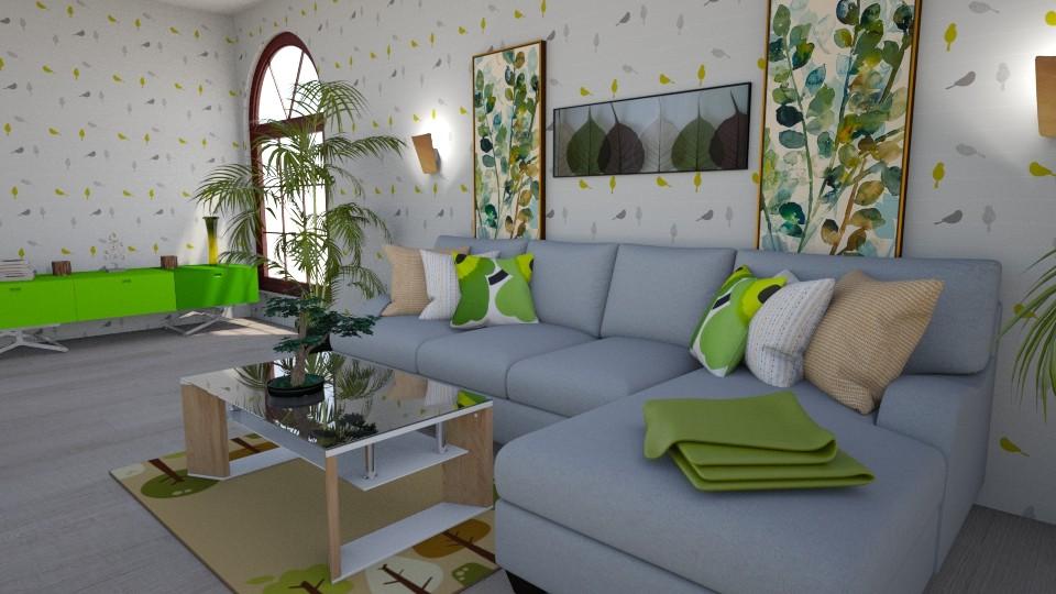 Calm - Living room - by Teti