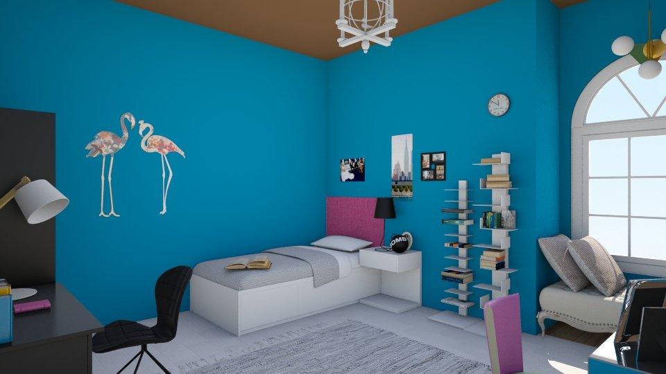 student - Feminine - Bedroom - by fifi sefriyani