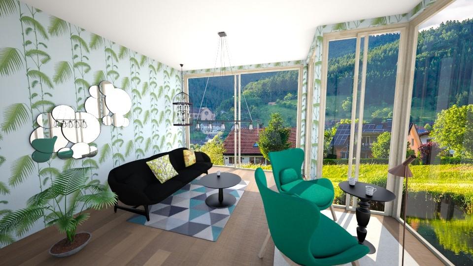 Tropical - Modern - Living room - by oliinree12