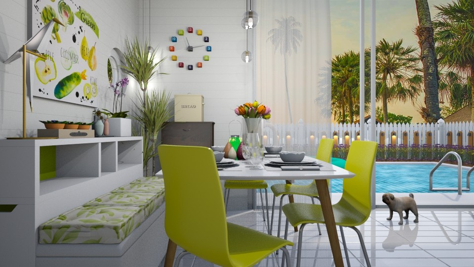 small dining room - by KC Pechangco