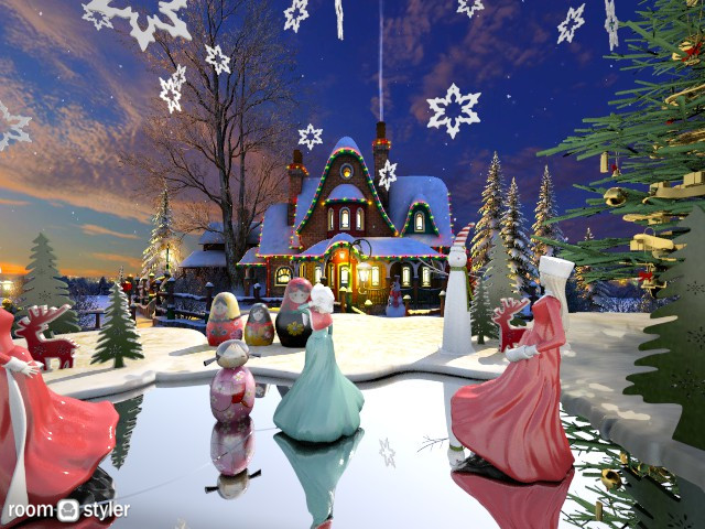 Holiday Ice Rink2 - Garden - by TammieLynne