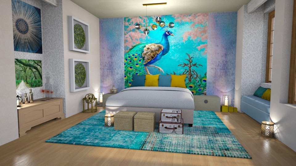 wall color design - Bedroom - by Moonpearl