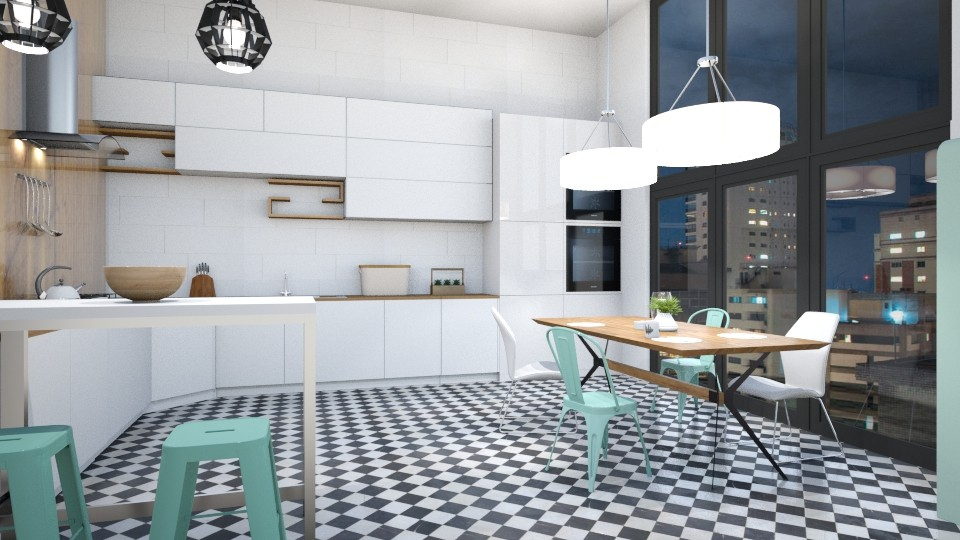 Scandinavian - Kitchen - by jagwas