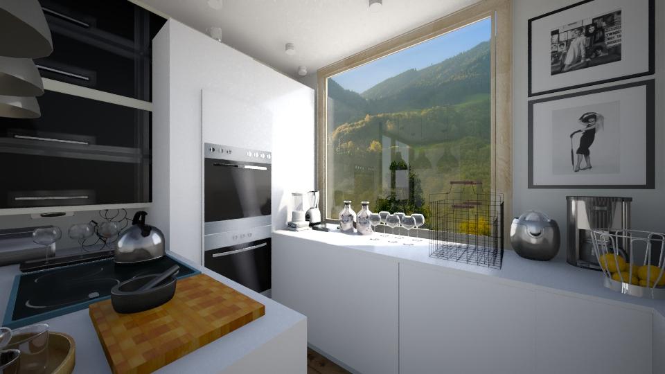 Kuhinja a 73 - Kitchen - by Dolika