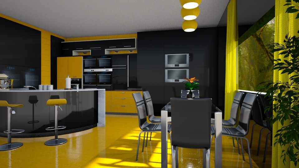 Colorful kitchen - by ilcsi1860