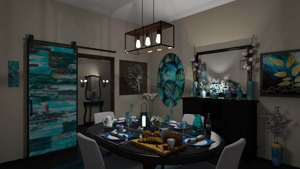Dining Room  - Modern - Dining room - by Kelly Carter