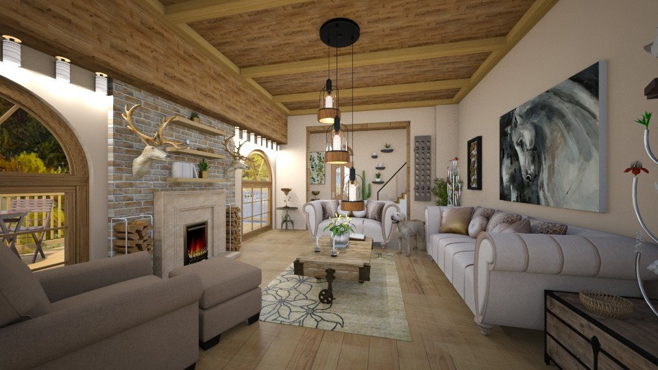 American Western Decor - Living room - by bigmama14