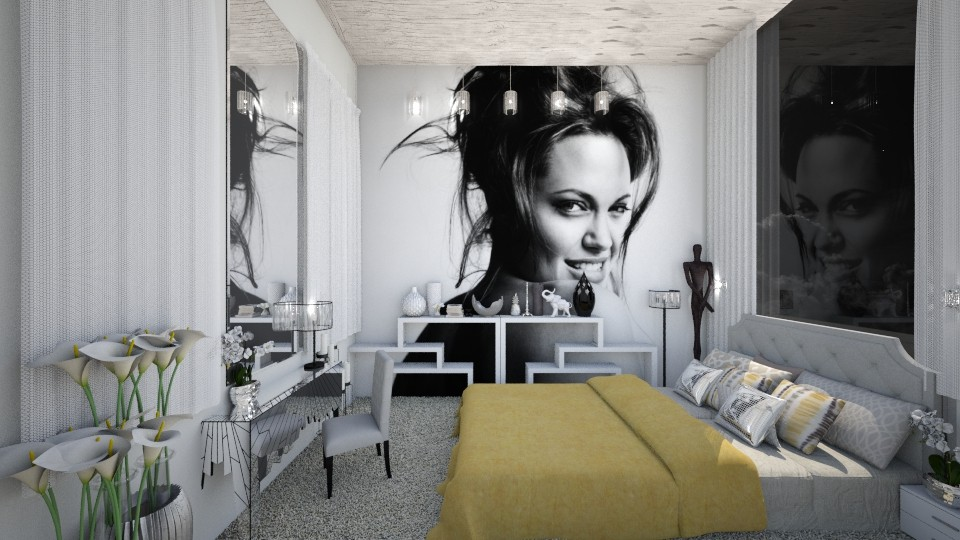 For Lady - Modern - Bedroom - by Nicol2601