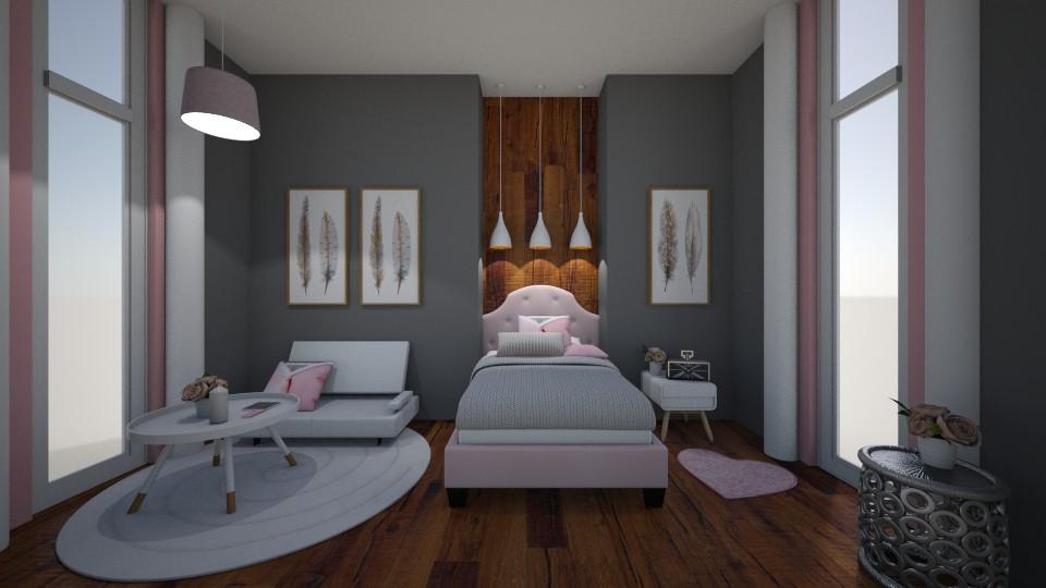 Small Bedroom 10 - Modern - Bedroom - by XiraFizade