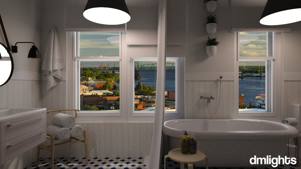 Apartment 56A Waterloo - Bathroom - by DMLights-user-1535782