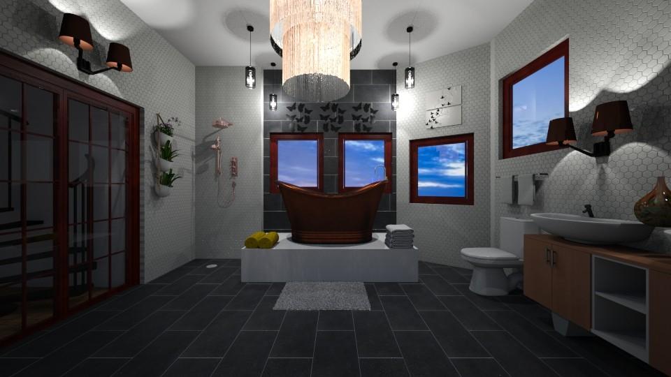 Attic Bathroom - Bathroom - by mcdcha22