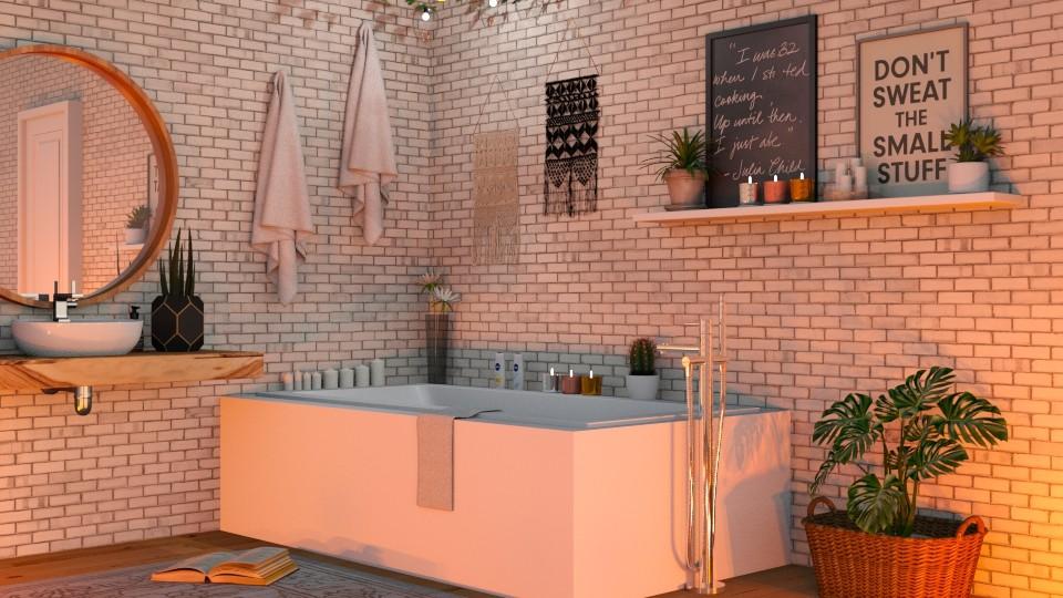 Boho Bath 2 - Bathroom - by lovedsign