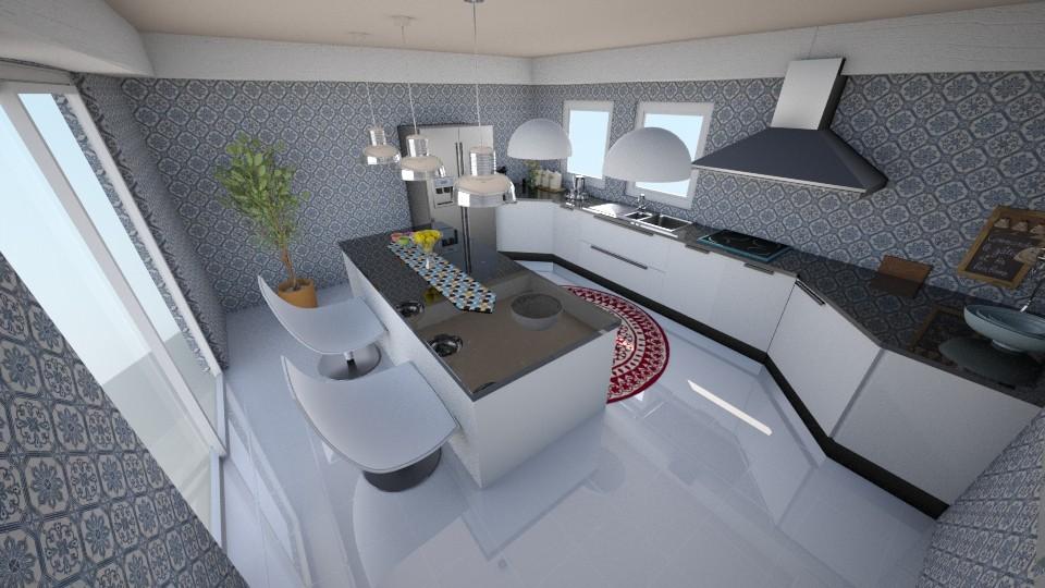 cozinha nws - Kitchen - by camivieira94