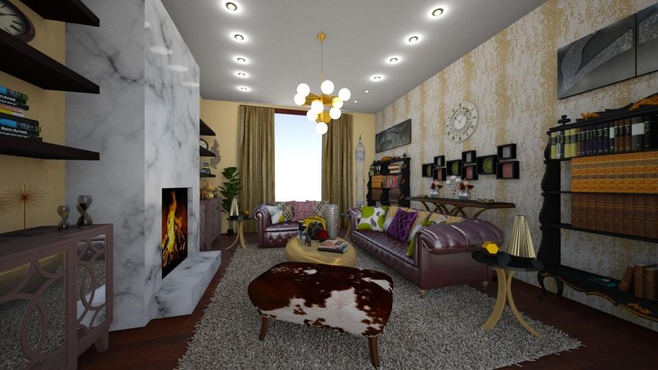 Maximalisam Living Room - Living room - by Nina Colin